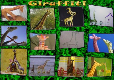 Giraffiti strip 50 bij 70