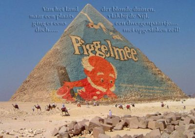 Piggelmee in Egypte