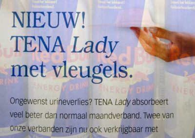 Red Bull Gives You Tena Lady