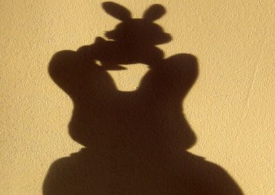 Happy Shadow, Tussen de oren